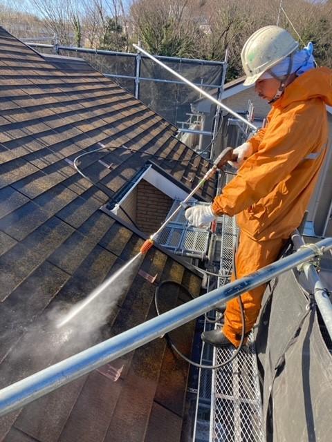 秦野市外壁塗装 高圧洗浄