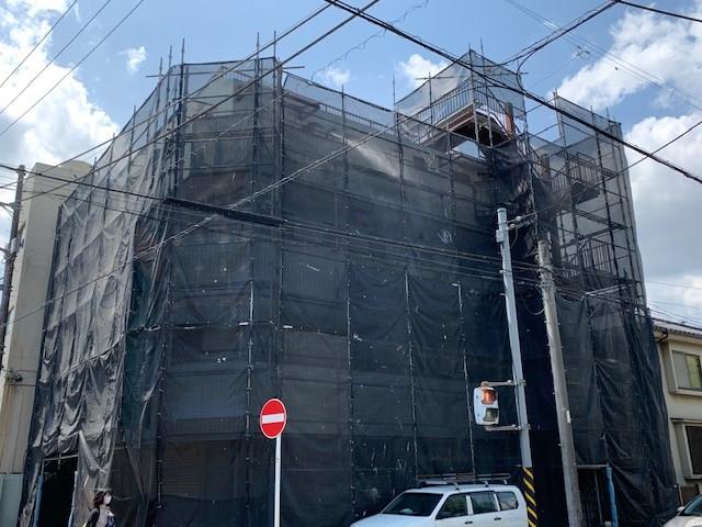 横浜市ビル外壁塗装・防水工事